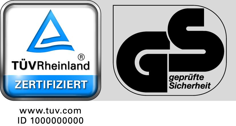 Qualitätszertifikat GS Zeichen Absorber