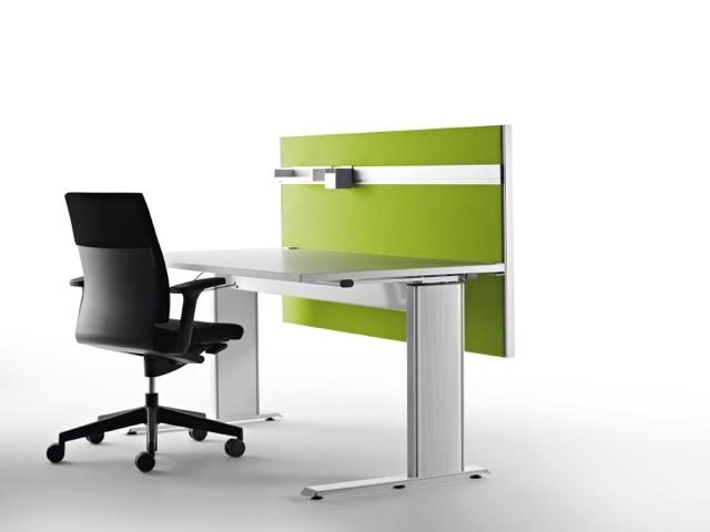 Decato Modul System Schreibtisch Trennwand als Schallabsorber
