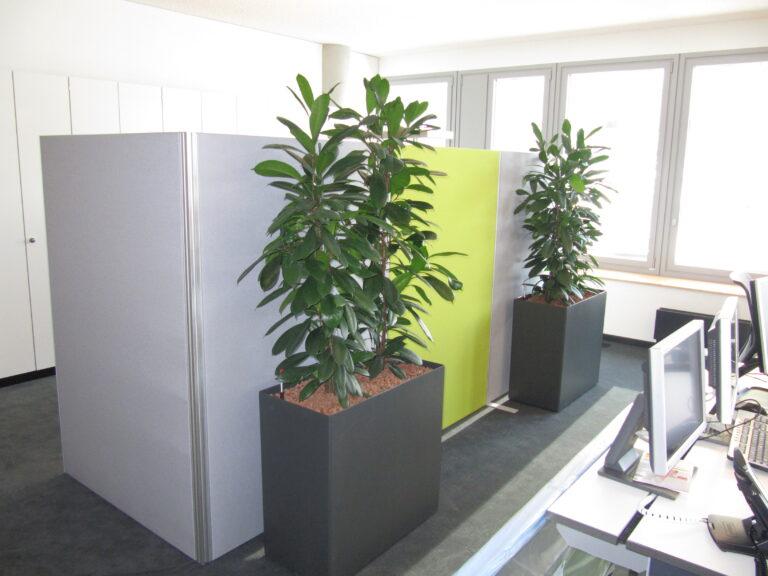 Kundenlösung ADAC mit Schallabsorber für das Büro