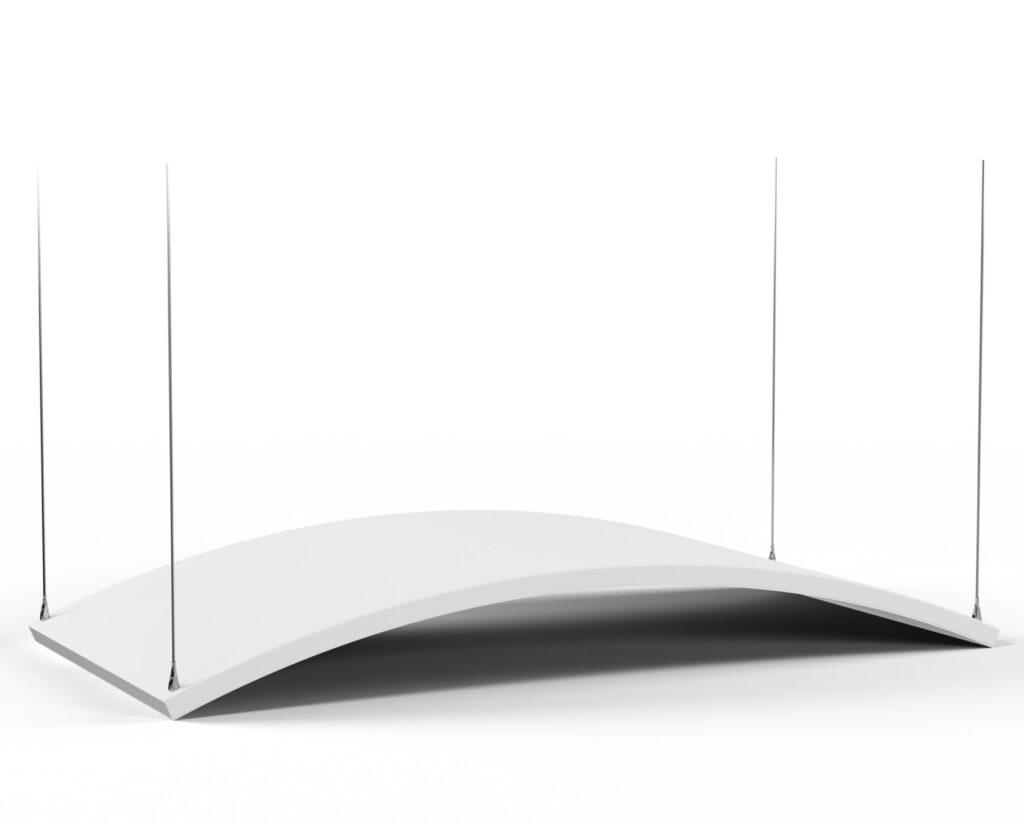 Acoustics in Motion Deckenabsorber für einen guten Schallschutz