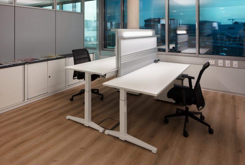 Kundenlösung TIGER Coatings mit Schallabsorber für das Büro