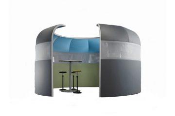 Acoustics in Motion Iglu als Raum in Raum Absorber