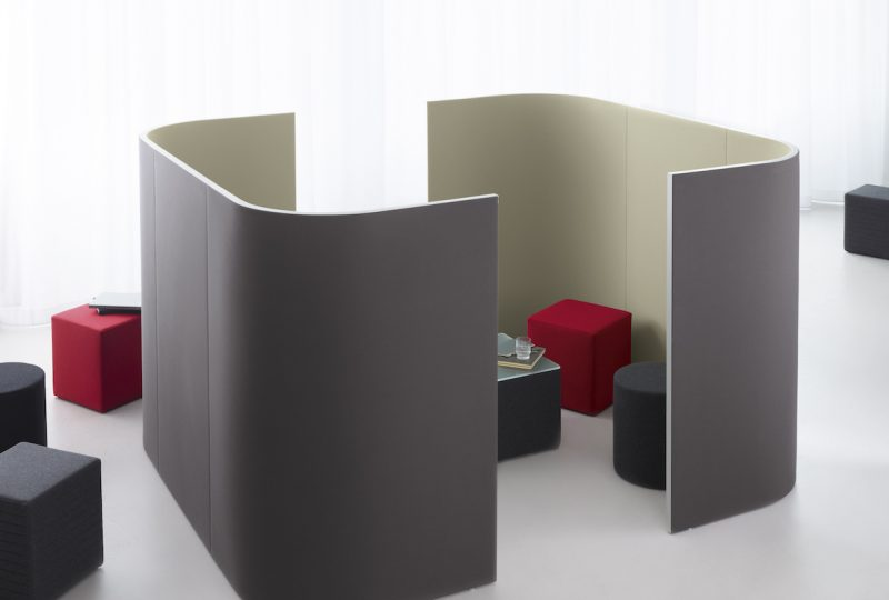 Decato Modul Corner Besprechungsecke Raum in Raum Absorber