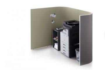 Decato Modul Corner Besprechungsecke und Raum in Raum Absorber