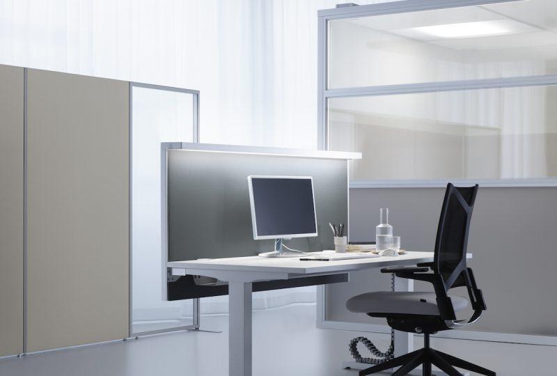 Decato Modul Arbeitsplatz mit Licht