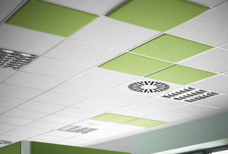 Decampo Deckenpaneele - Deckenabsorber Akustik Absorber
