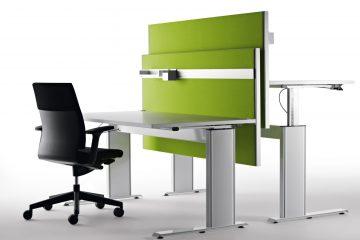 Decato Modul System Schreibtisch Trennwand und Schallabsorber