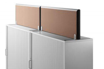 Formfac5 Schrankaufsatz als Schallschutz Schreibtisch und Schallabsorber