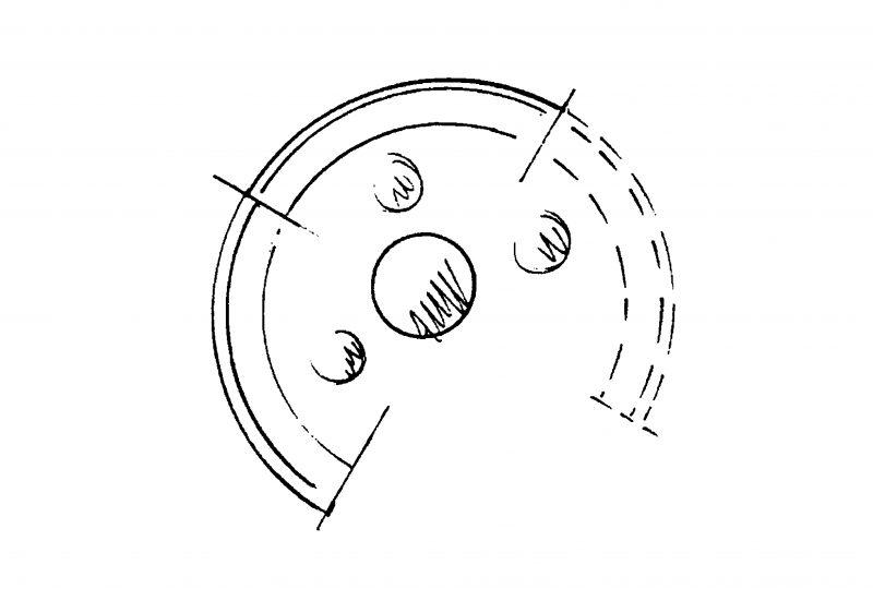 Skizze Iglu Schallschutzkabine und Besprechungsecke