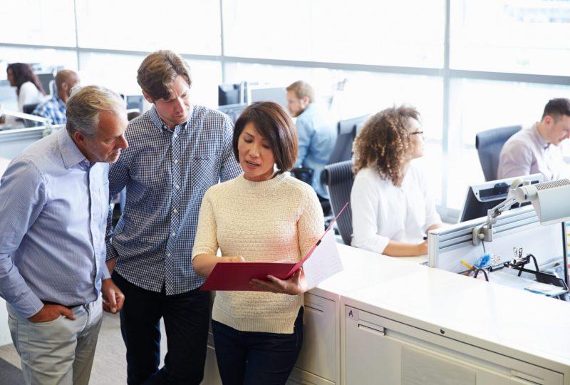 Preform bietet Akustiklösungen für Schallschutz im Großraumbüro