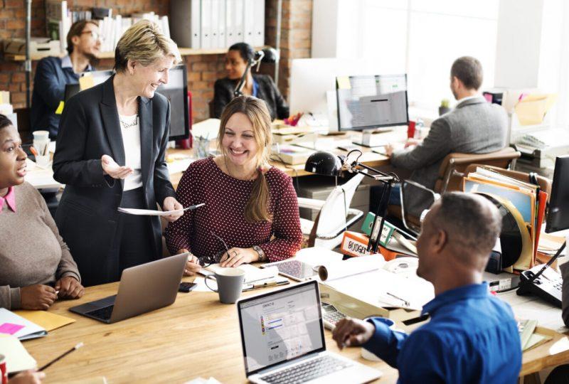Individualität und Design sorgen für moderne Bürokonzepte im Open Space Büro