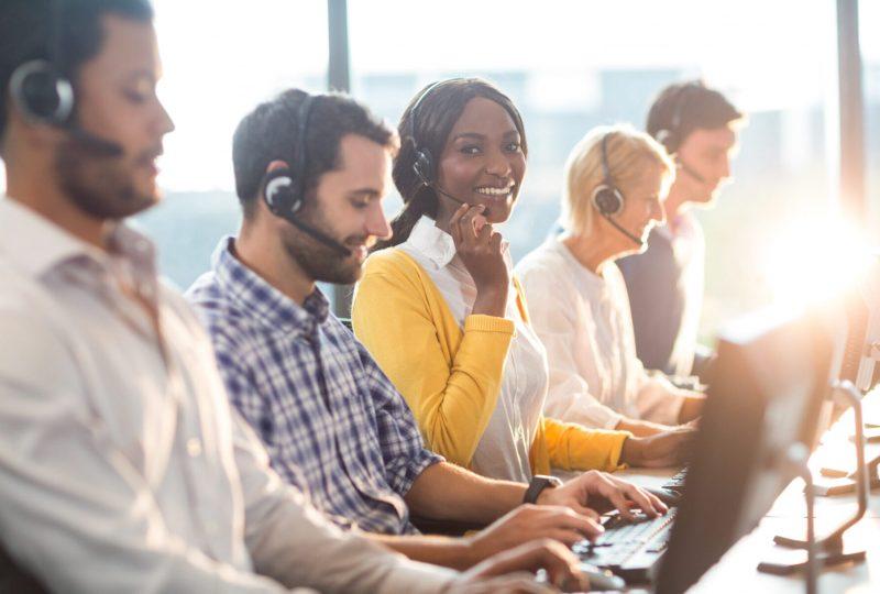 Akustiklösungen für mitarbeiterfreundliche Call Center