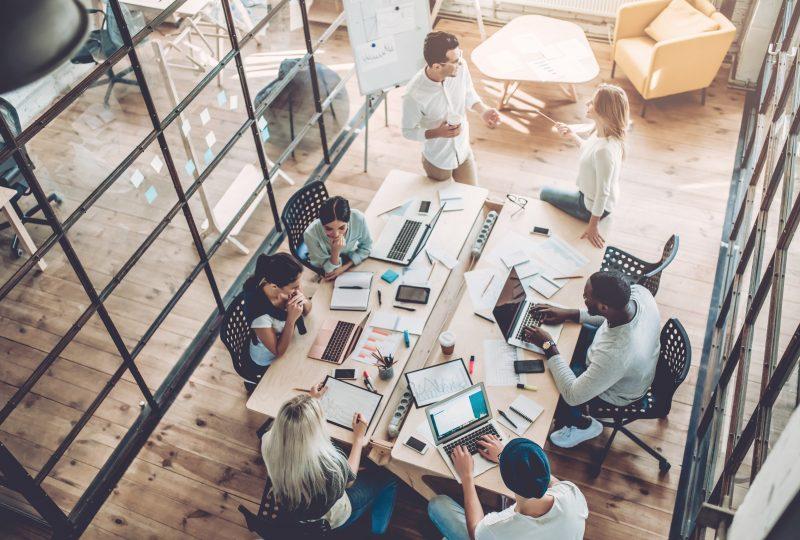 Akustiklösungen für mehr Komfort in Team- und Gruppenbüros